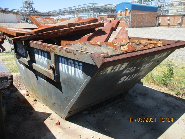 Manganese Liners, High Carbon Steel, Scrap Copper Components