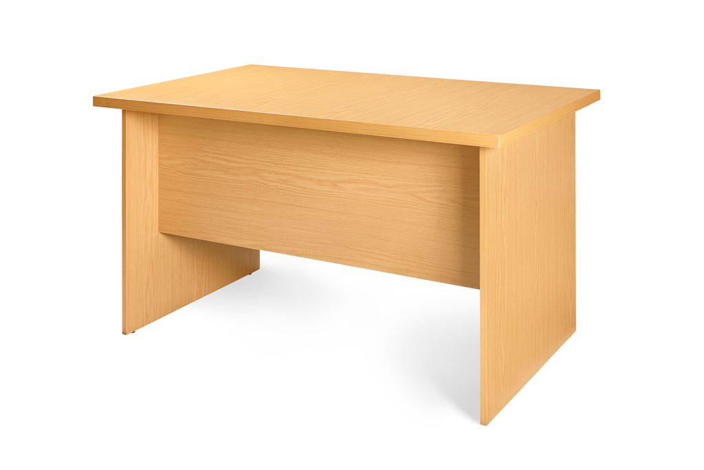 Super100 Desk Shell 1200x750 Natural Oak.