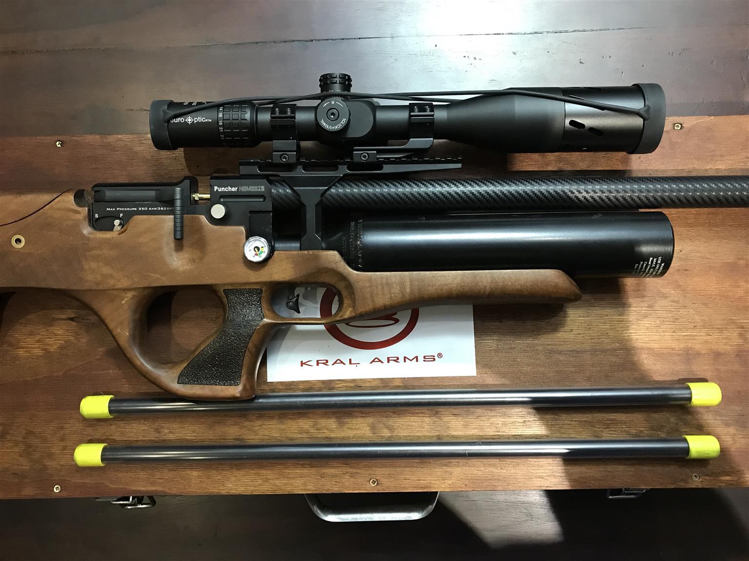 Air Rifle - KRAL ARMS Nemesis tri-calibre