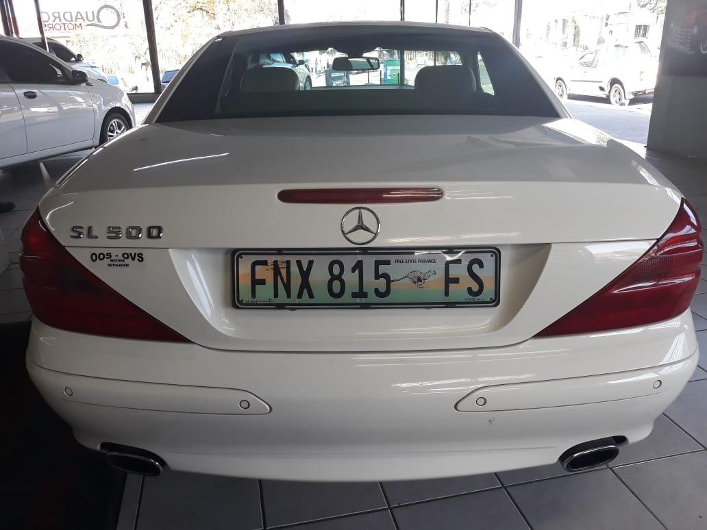 2002 Mercedes Benz SL 500