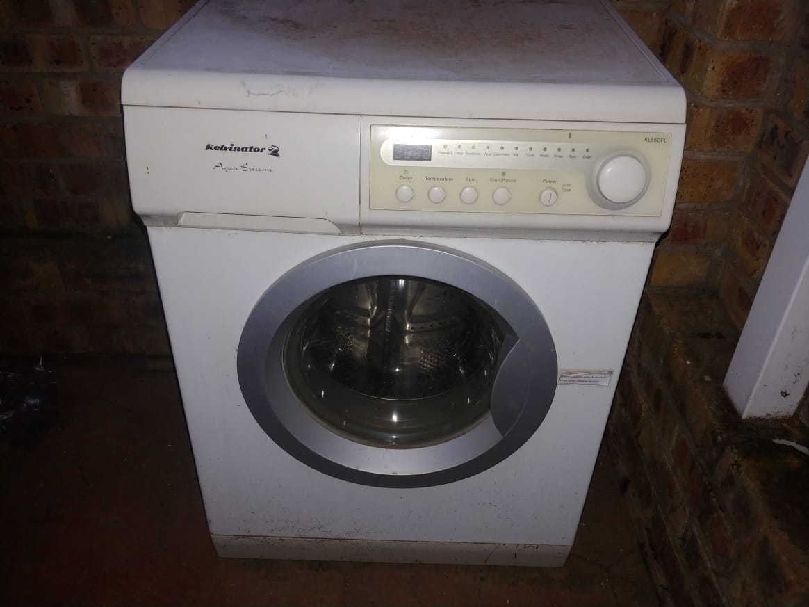 Fridge and Washing Machine for sale