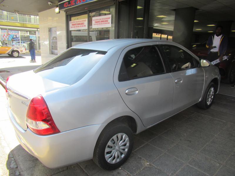 2016 Toyota Etios sedan 1.5 Xs