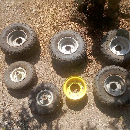 4quadbike tyres and rims and