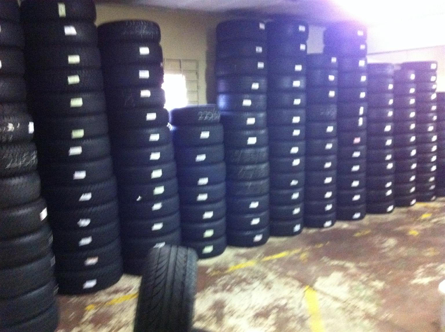 USED TIRES AND MAGS
