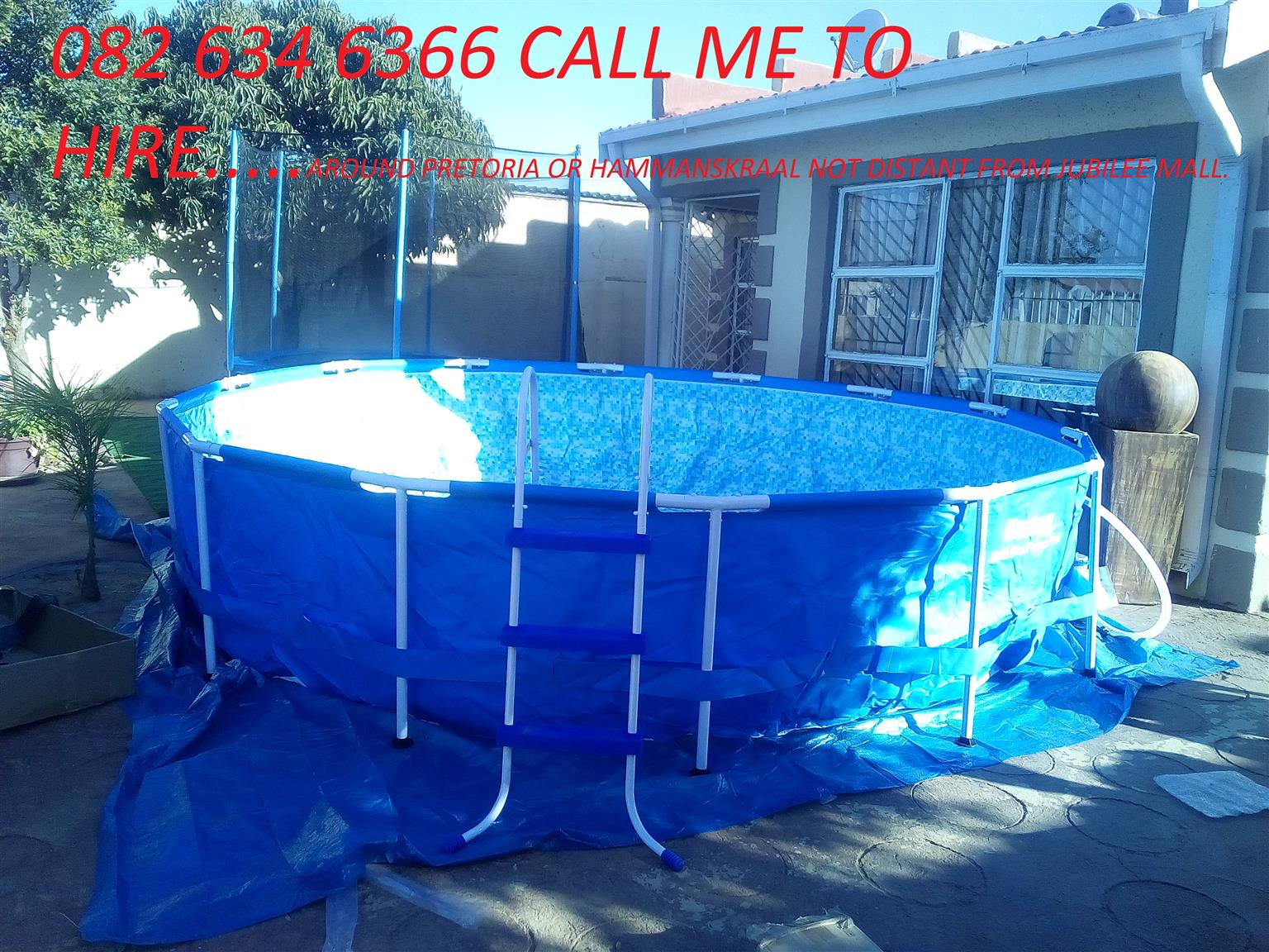 Swimming Pool Trampoline And Attificial Lawn To Hire Junk Mail