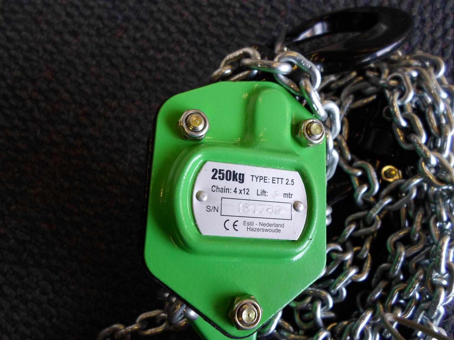 Estil 250kg Block and Tackle