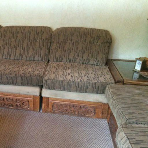 L-shaped lounge suite for sale