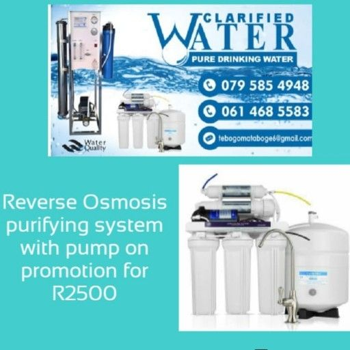Water purification System for home use