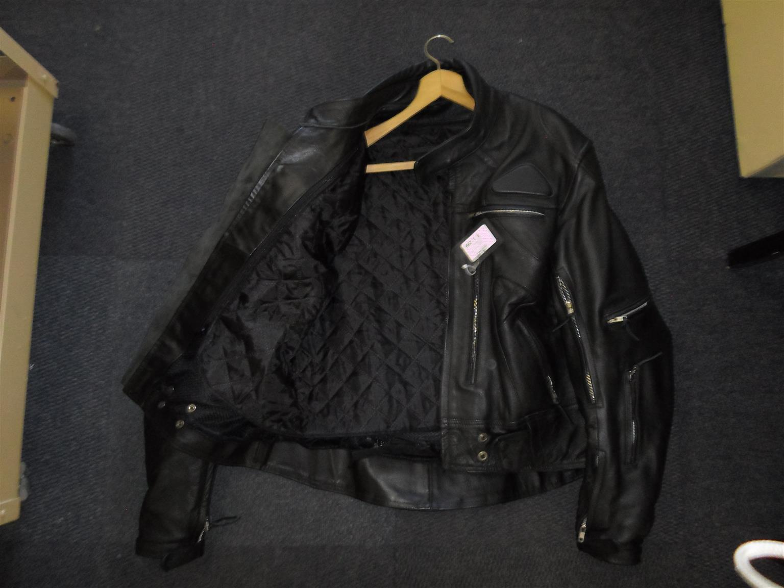XXL Charlie London Motorcycle Jacket