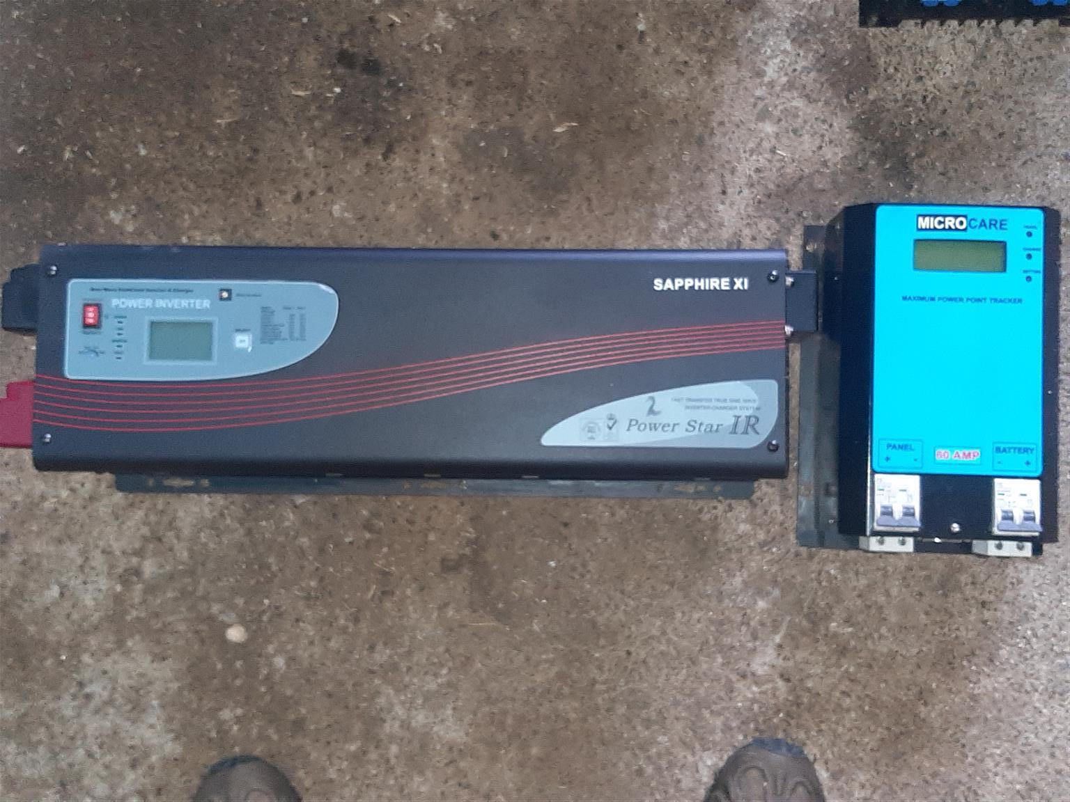 Powerstar IR inverter and Microzone MPPT