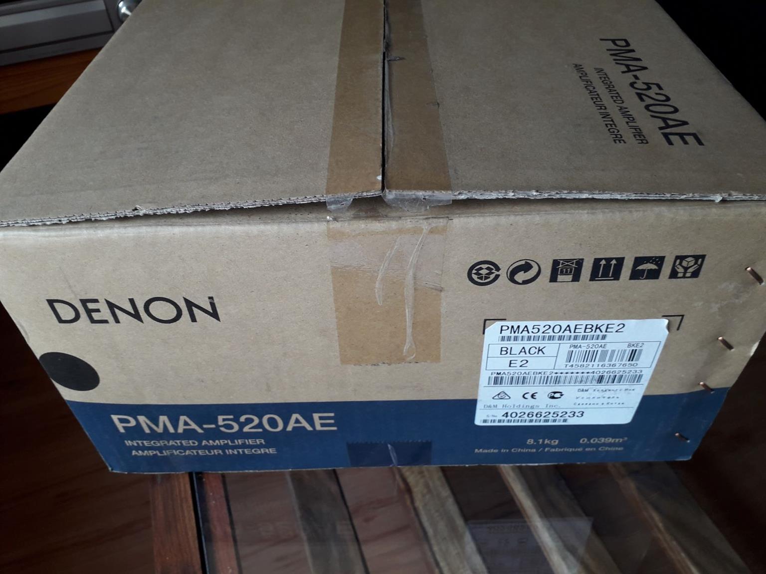 Denon PMA-520AE stereo amplifier
