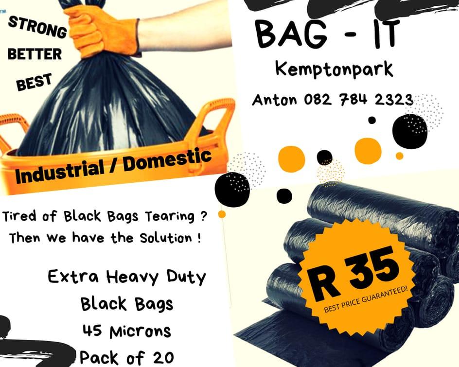 Xtra Heavy duty refuse bags