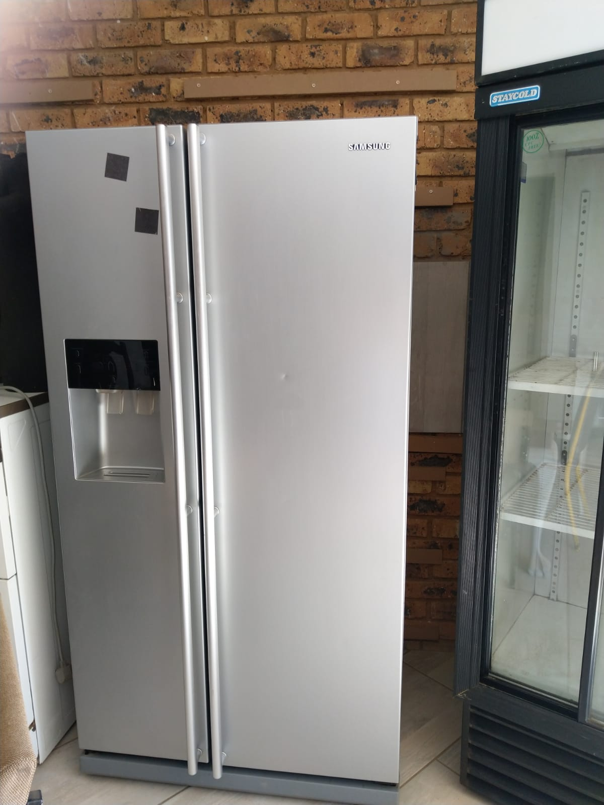 Samsung double door fridge freezer for sale