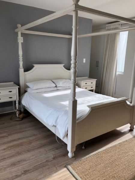 A beautiful timeless four Poster queen bed for sale