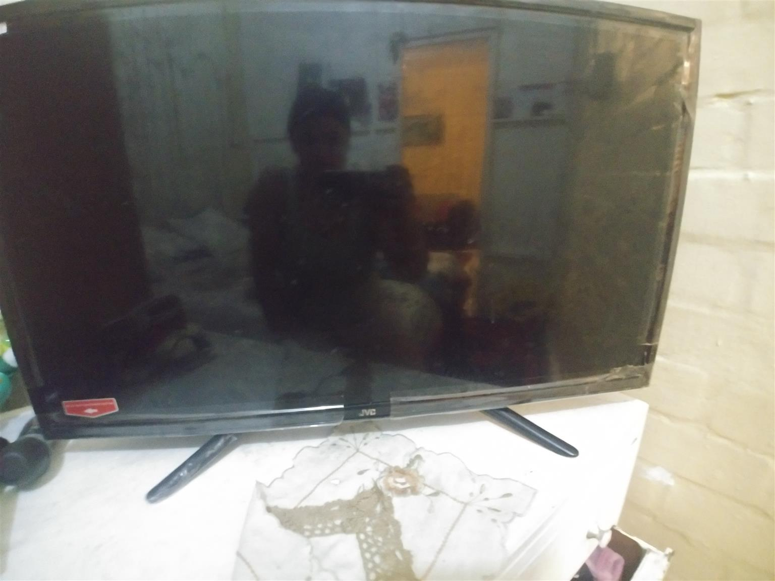 Jvc smart tv lcd broken