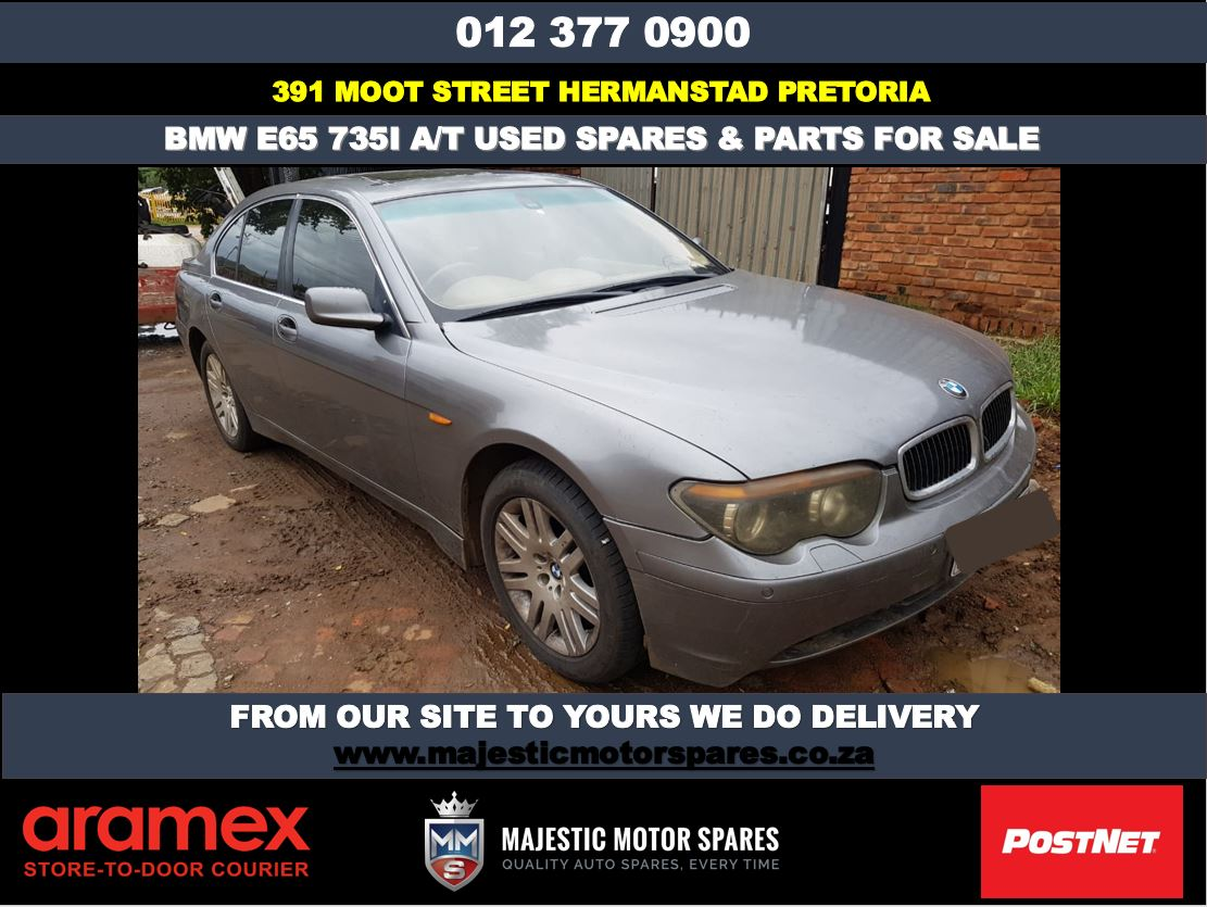 Bmw E65 735i suitable replacement spares for sale