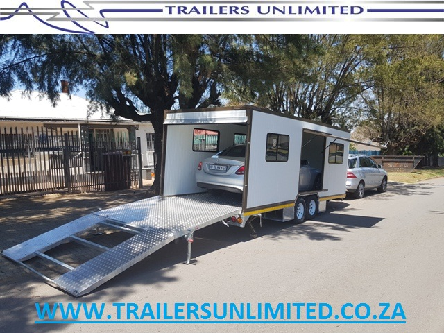 6500 X 2500 X 2400 INSULATED ENCLOSED CAR / BIKE TRAILER