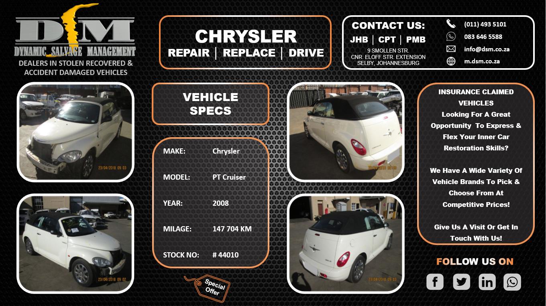 2008 Chrysler PT Cruiser 2.4 Limited