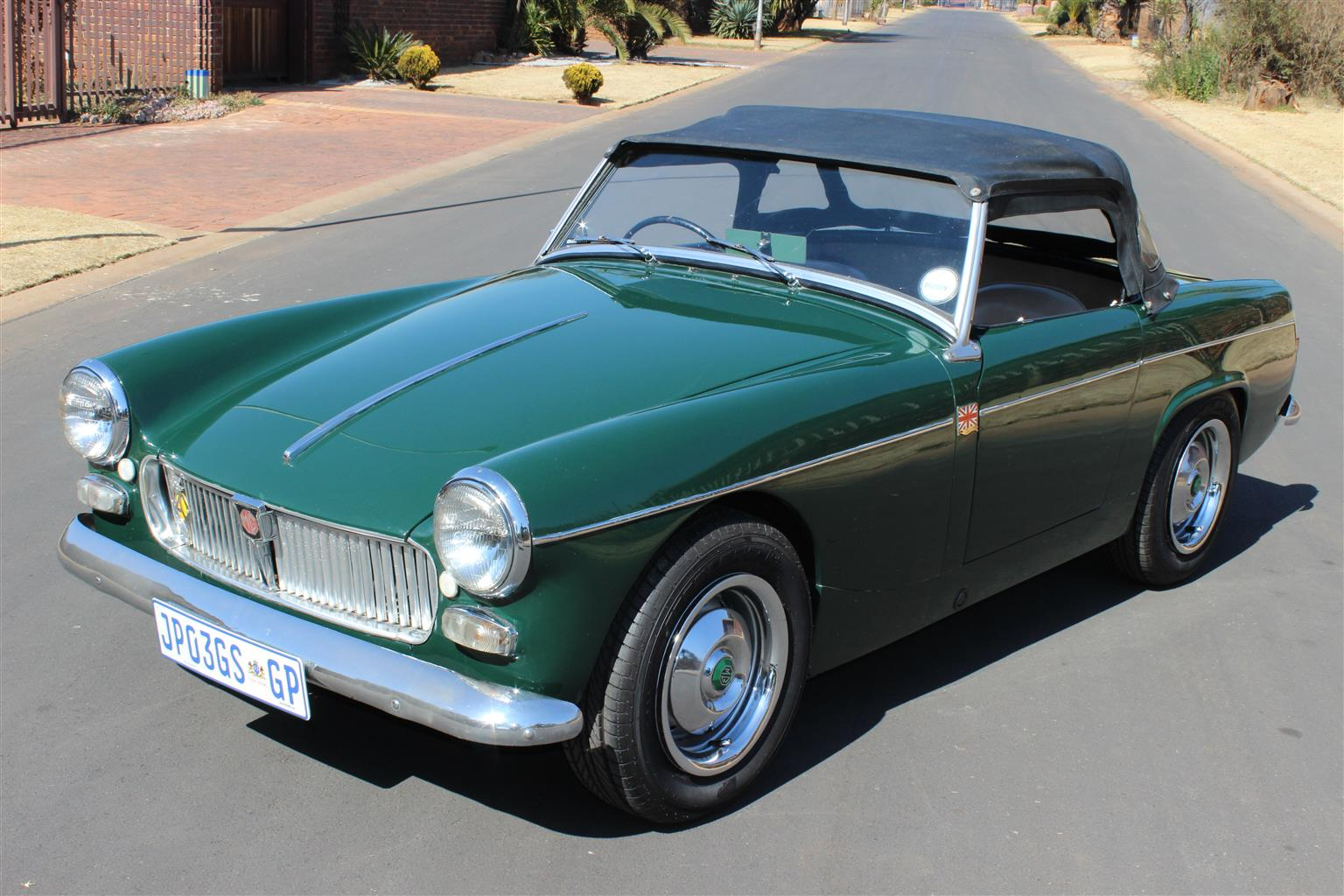 Extremely rare,highly collectable MG Midget MK1 1962