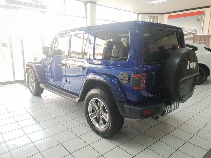 2019 Jeep Wrangler Unlimited WRANGLER UNLTD SAHARA 3.6L V6 A/T
