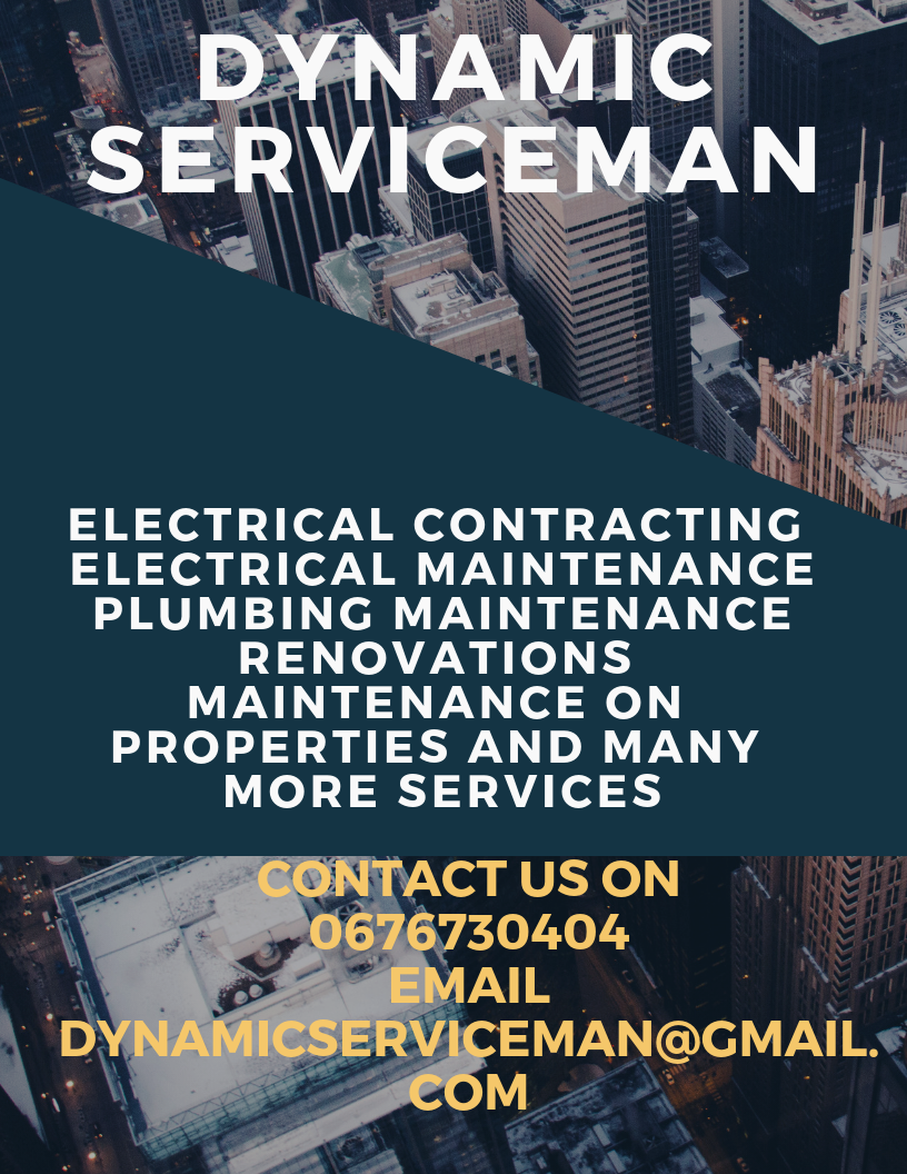 Electrical maintenance and contracting plumbing maintenance and renovations