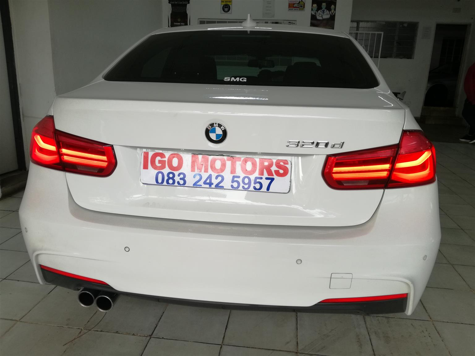 2017 BMW 320d Auto MSport 112,000 R328,000 Mechanically perfect with Sunroof