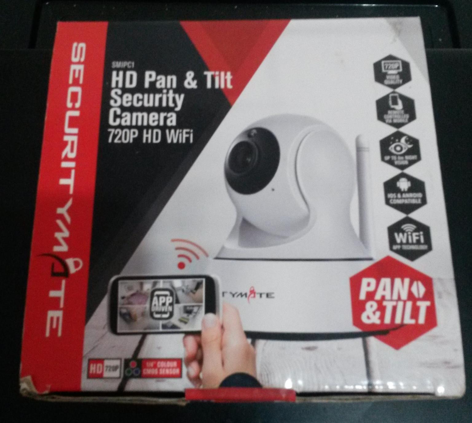 NEW security camera