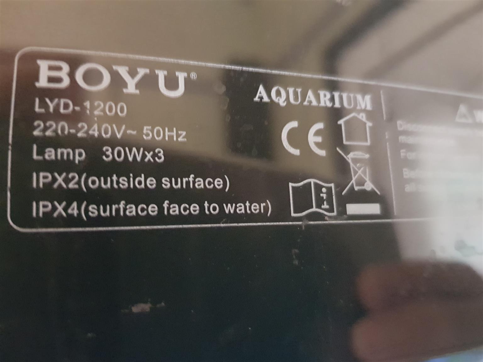 Full freshwater aquarium setup