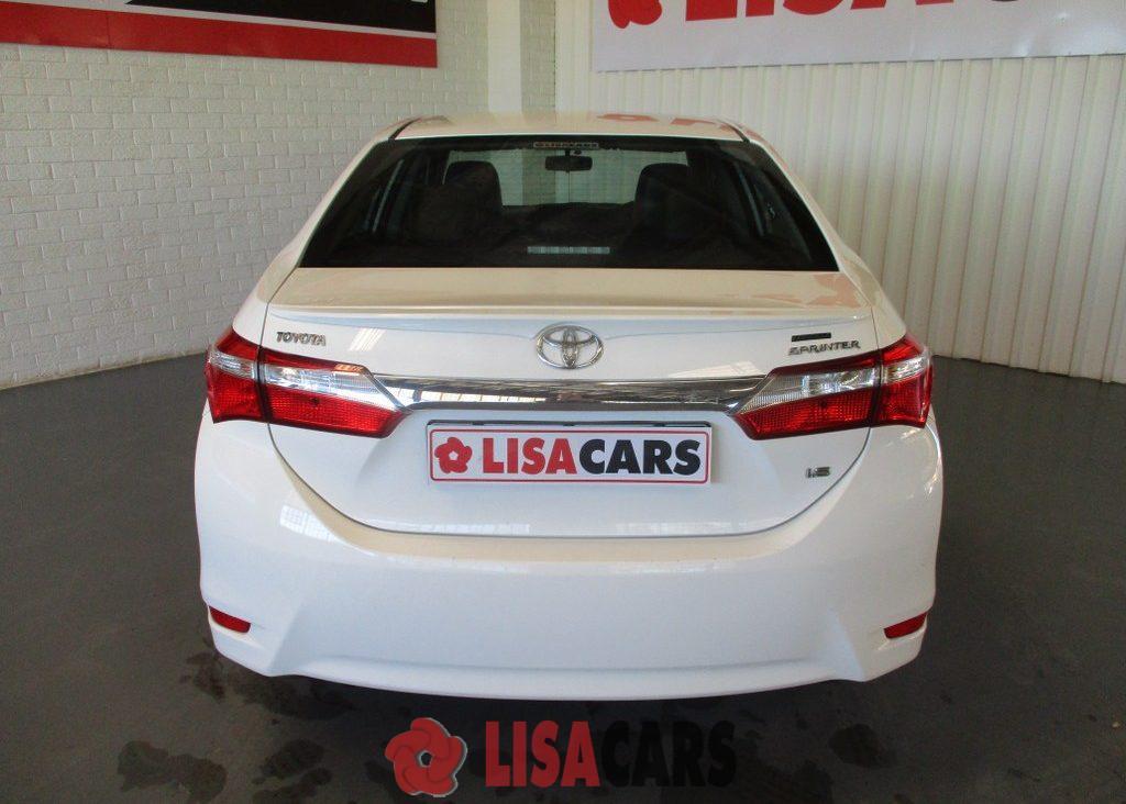 2014 Toyota Corolla 1.6 Sprinter