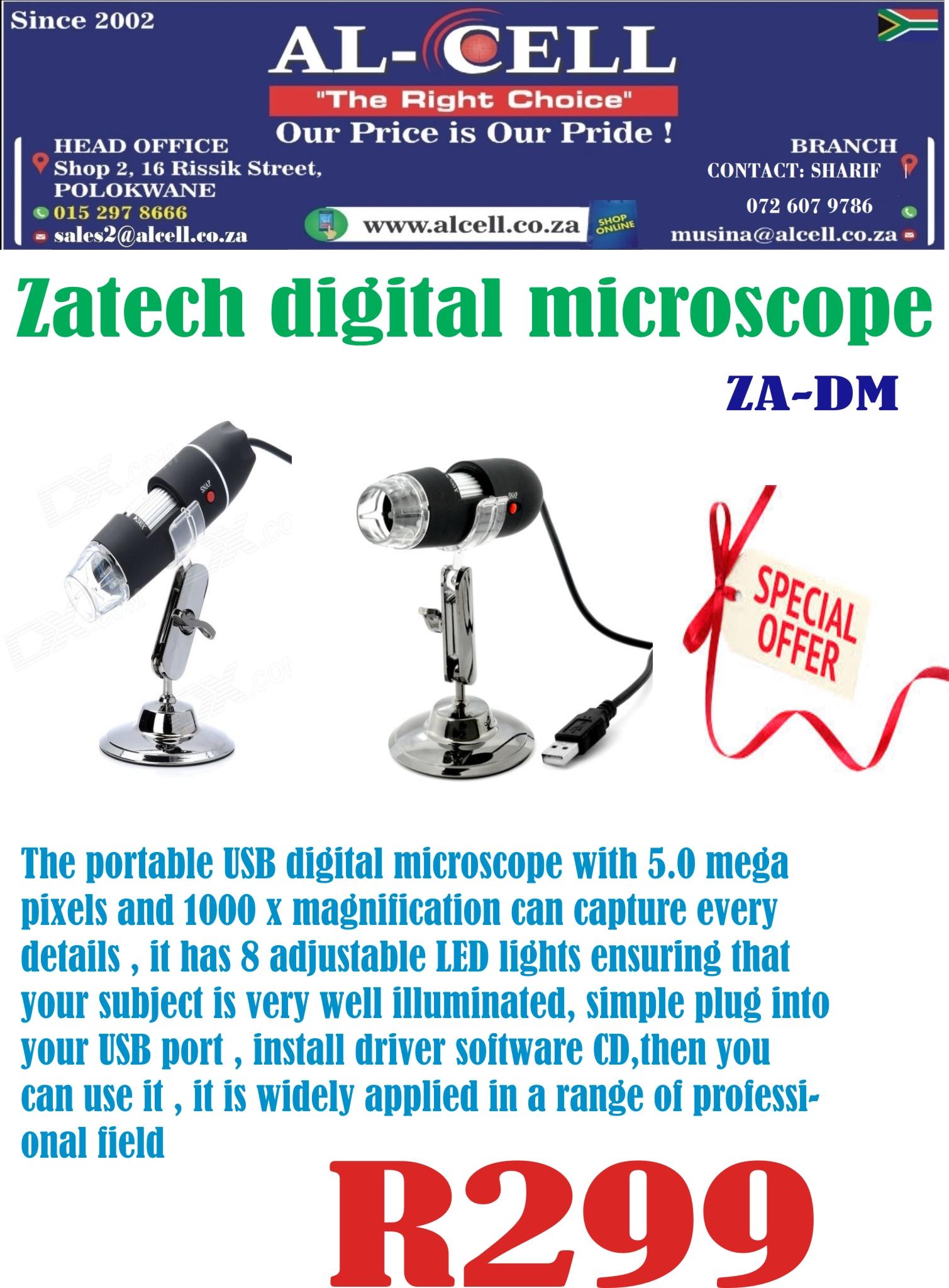 ZATECH DIGITAL MICROSCOPE