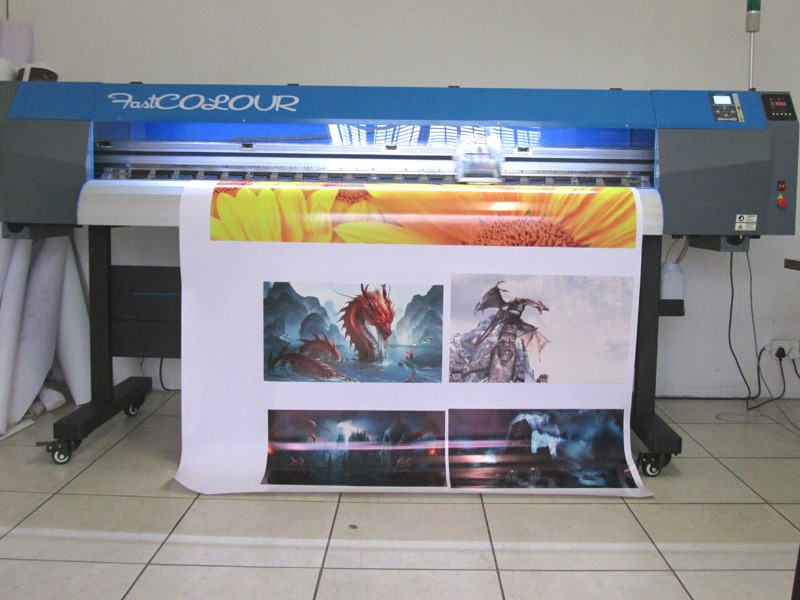 F-1863/AQUA FastCOLOUR 1860mm EPSON DX7 Printhead Large-Format Water Based Dye or Pigment