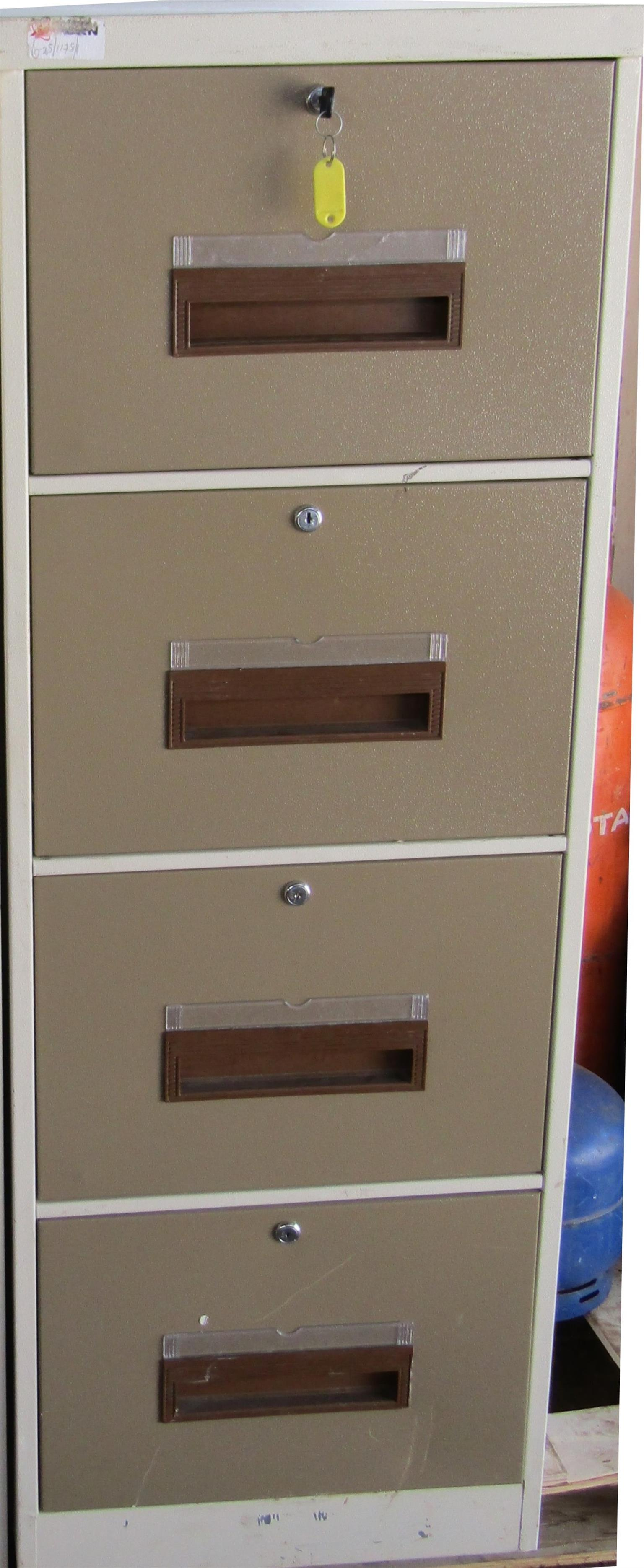 4 Drawer Steel Drawer Filing Cabinet