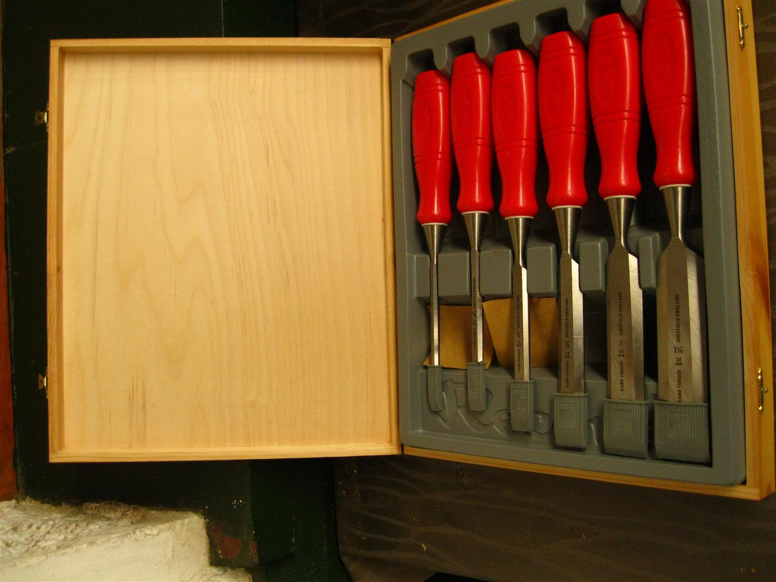 Wood Chisel Set.