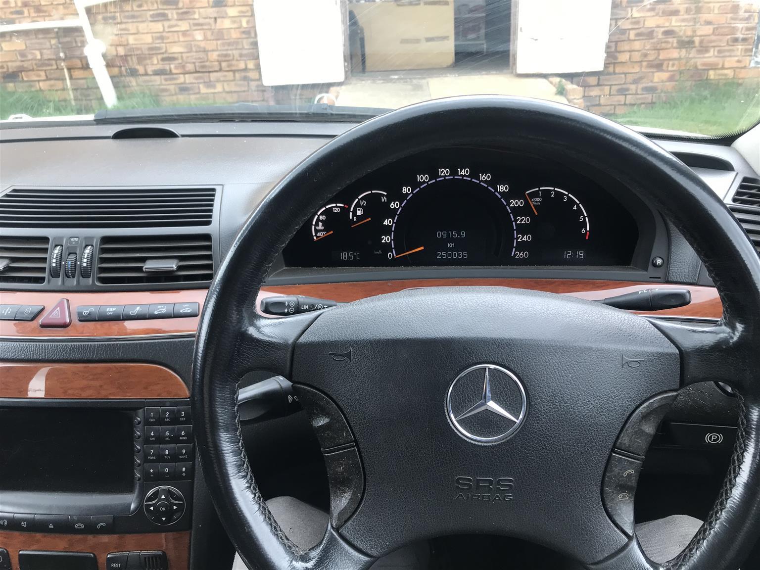 2005 Mercedes Benz S Class S350