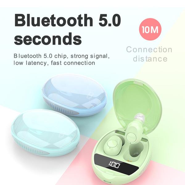 L30 TWS Earphones BT 5.0 Earphone TWS Matte Macaron Earbuds With Charging box