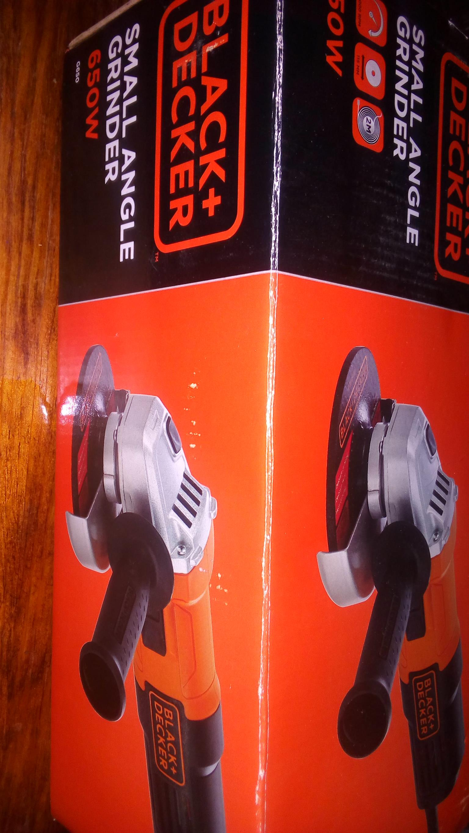 Angle Grinder Black and Decker