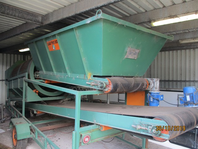 Jarnsmior Mobile Compost Trommel Screening Planter - ON AUCTION