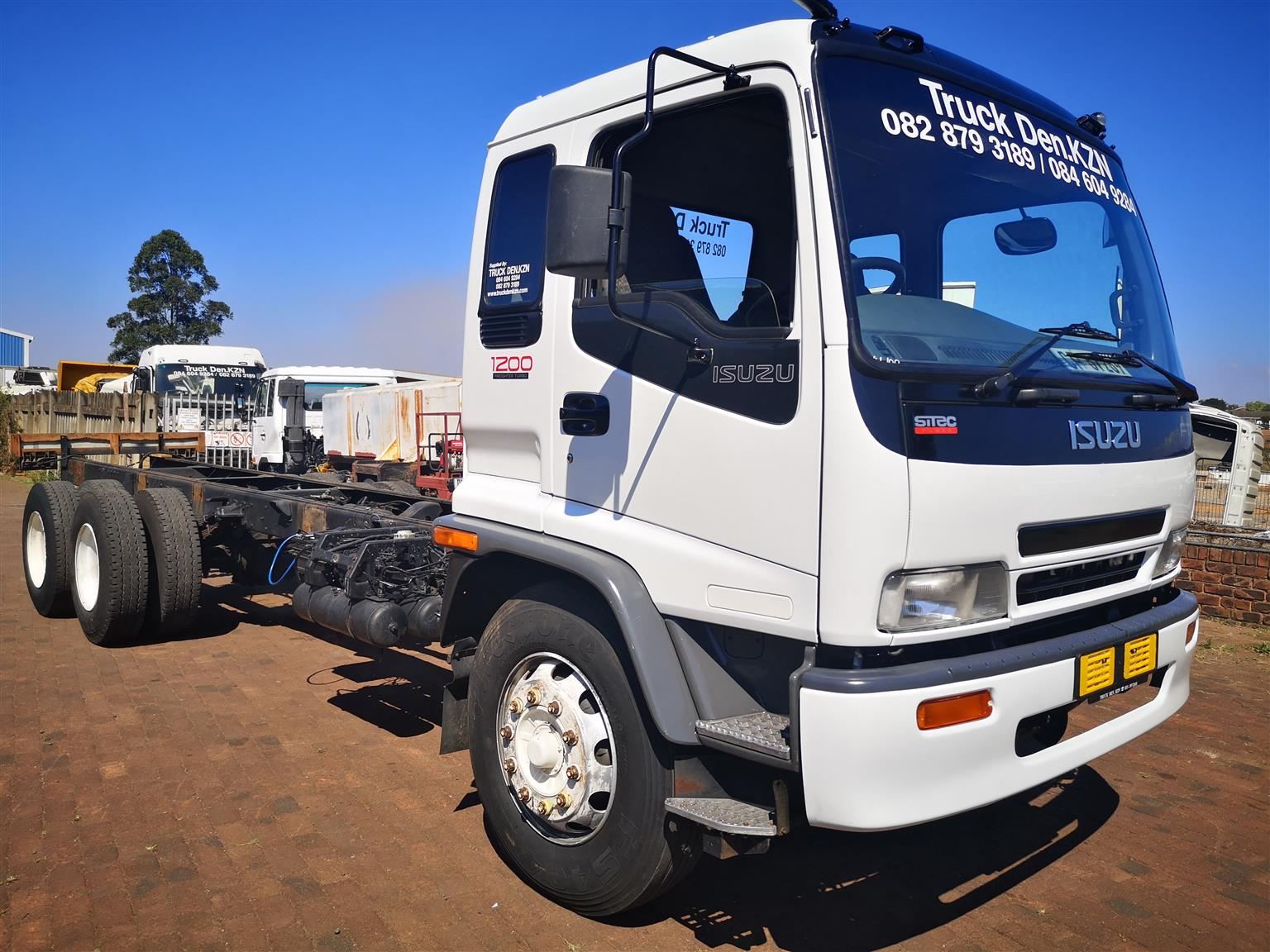 ISUZU FTM 1200 FREIGHTER SITEC TRUCK  - AS CHASSIS CAB