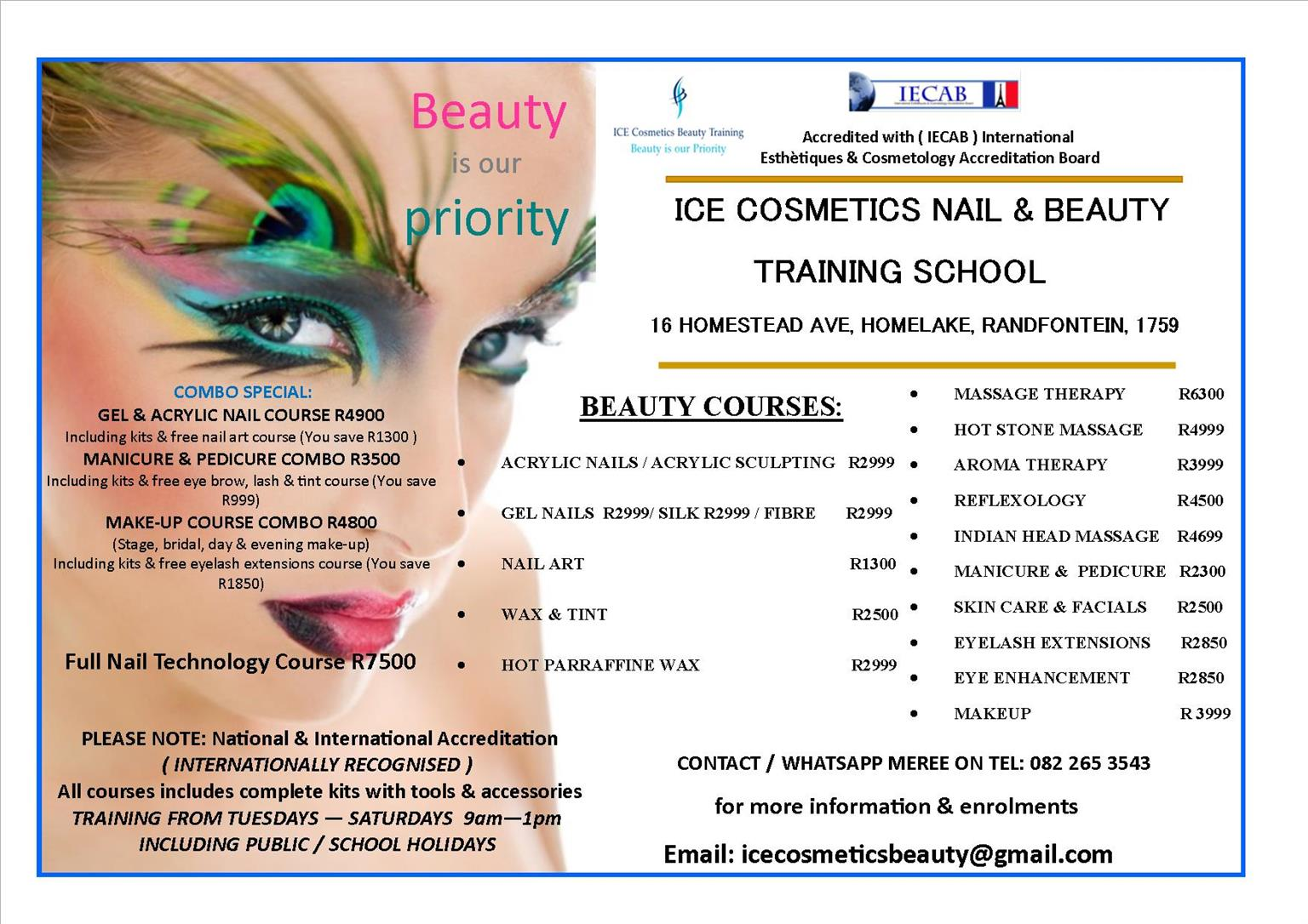 Full Nail Technology & Beauty Combo Courses IECAB Accredited | Junk Mail