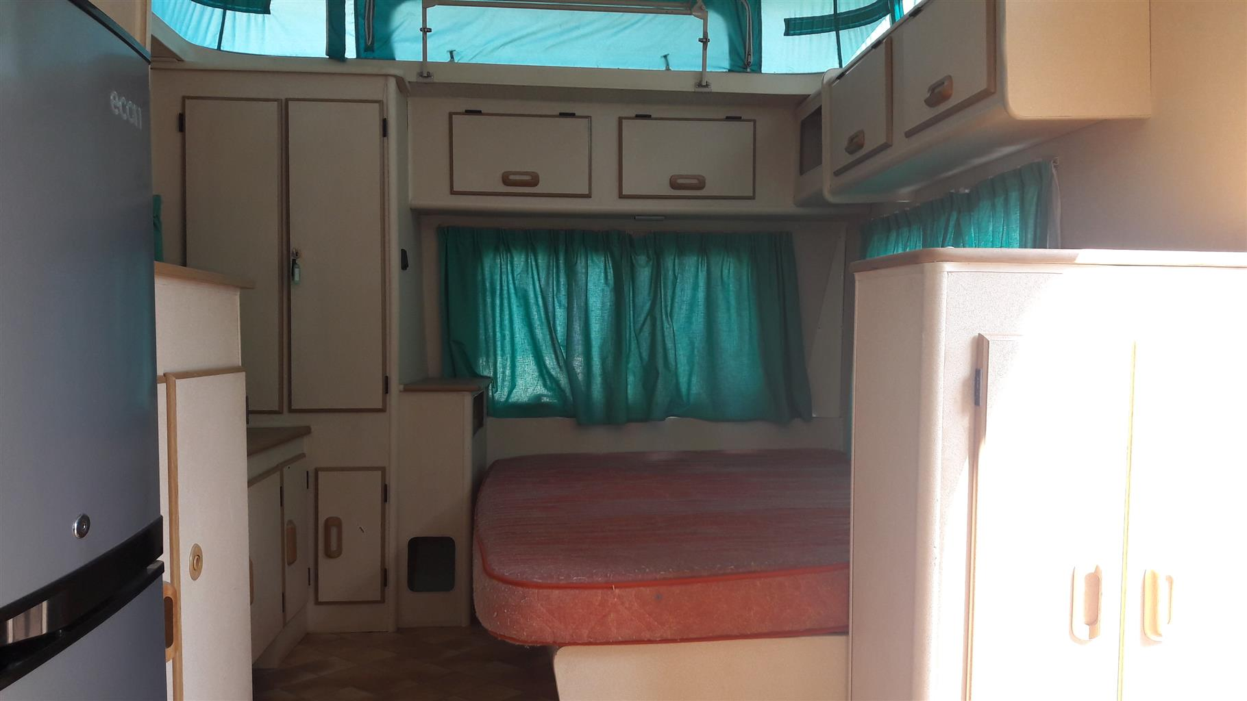gypsey raven d with full tent and big fridge and freezer in excellent condition must be seen