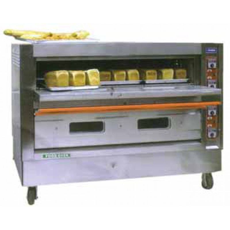 New Double Deck Oven 4 Tray or 6 Tray plus free scale