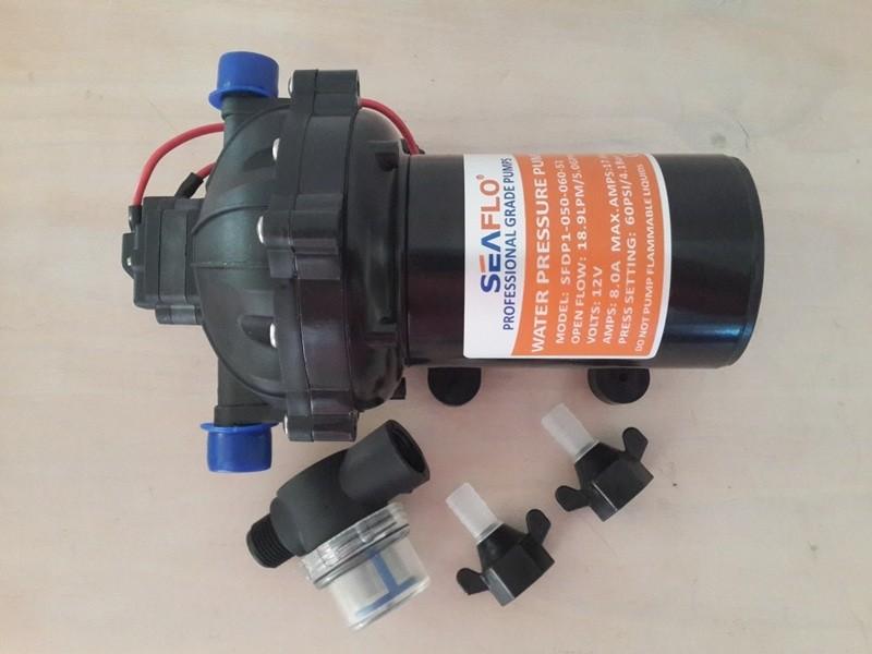 SEAFLO HIGH PRESSURE WATER PUMP 20LPM/5 5GPM 12V