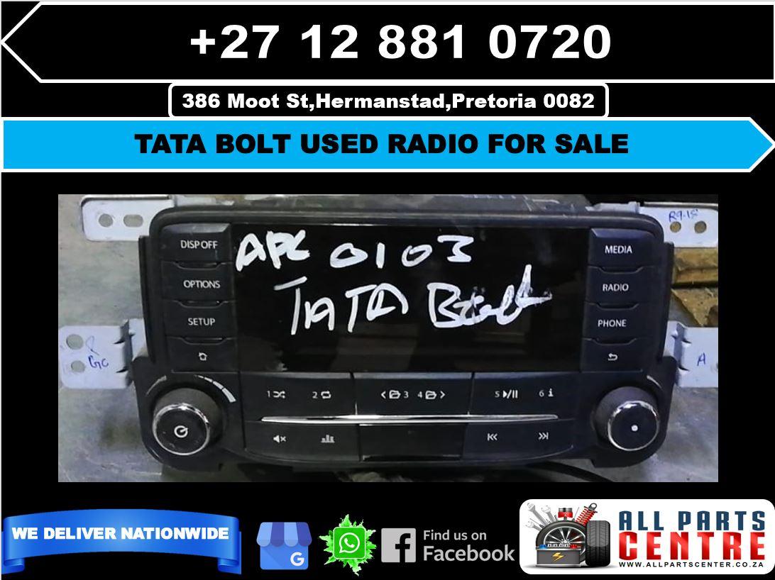 Tata bolt used radio for sale