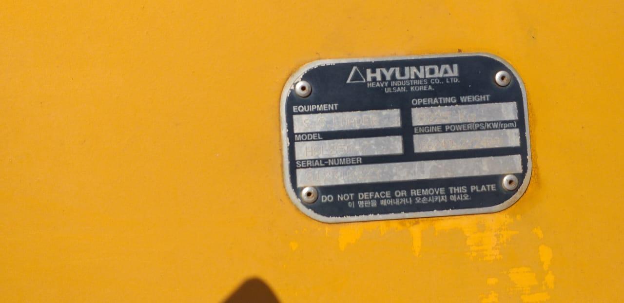 Hyundai skidsteer HSL 850-7