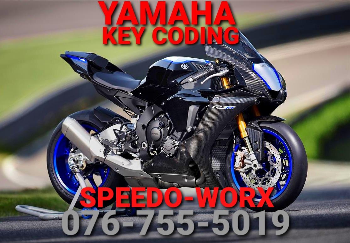 Yamaha motorcycle Key Coding