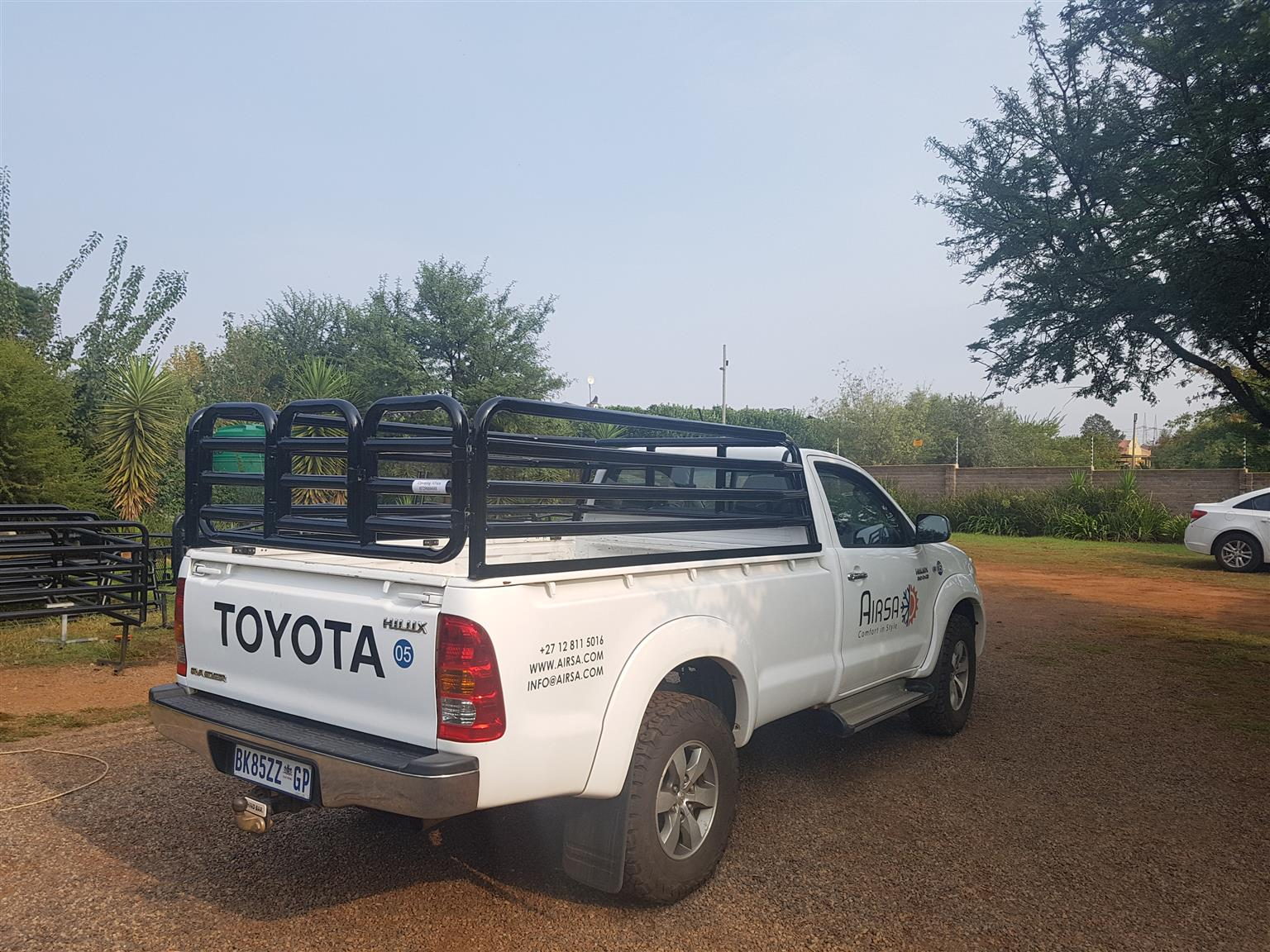 Lock down - we can help with cattle rails