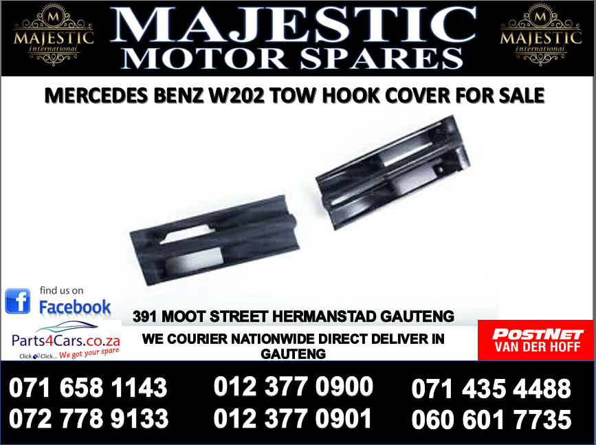 Mercedes benz W202 tow hook cover for sale