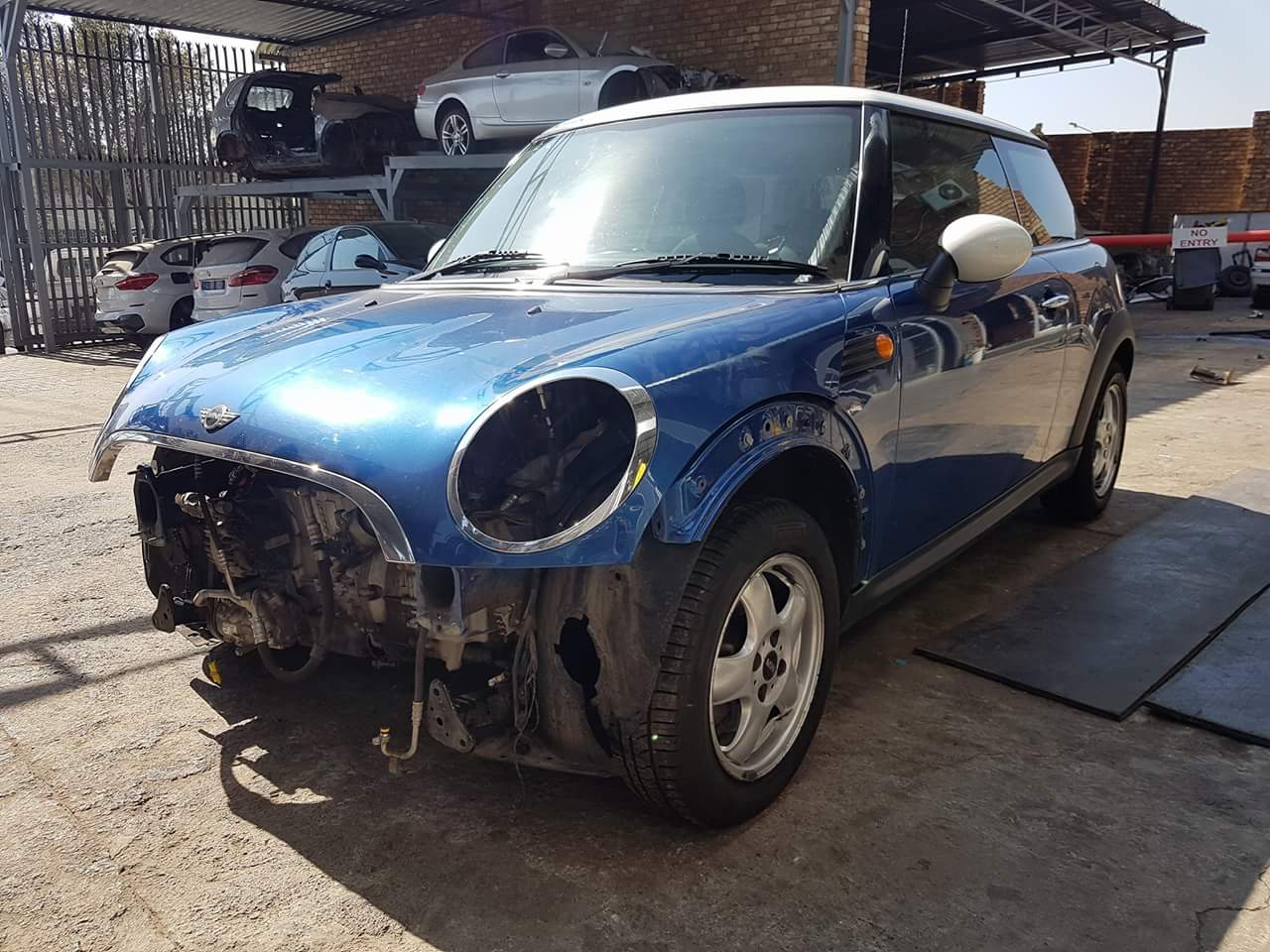 2008 Mini Cooper R56 N12 6 Speed Manual Pre-Face Stripping For