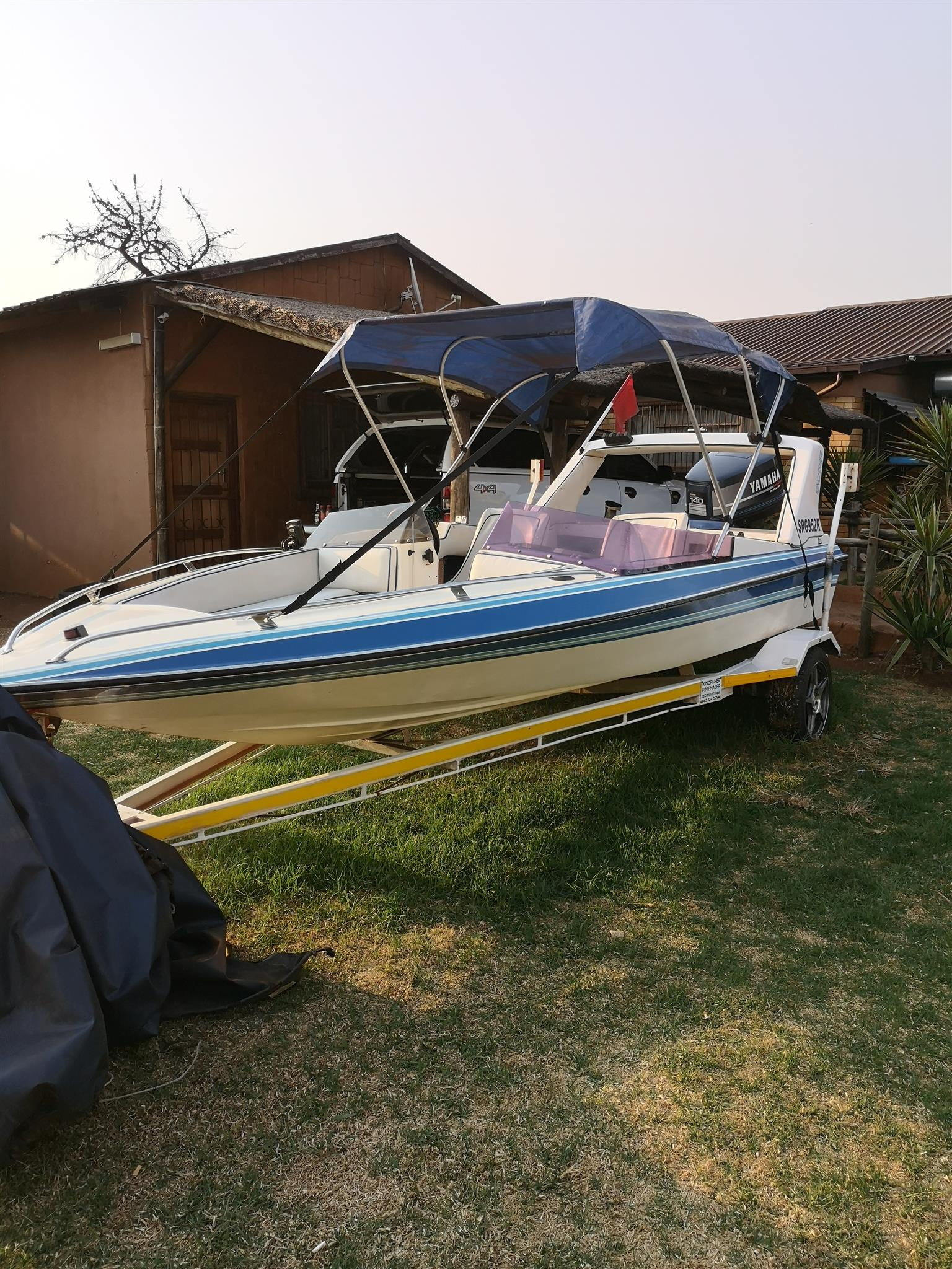 Swift 170 speedboat with a 140 Yamaha two stroke engin