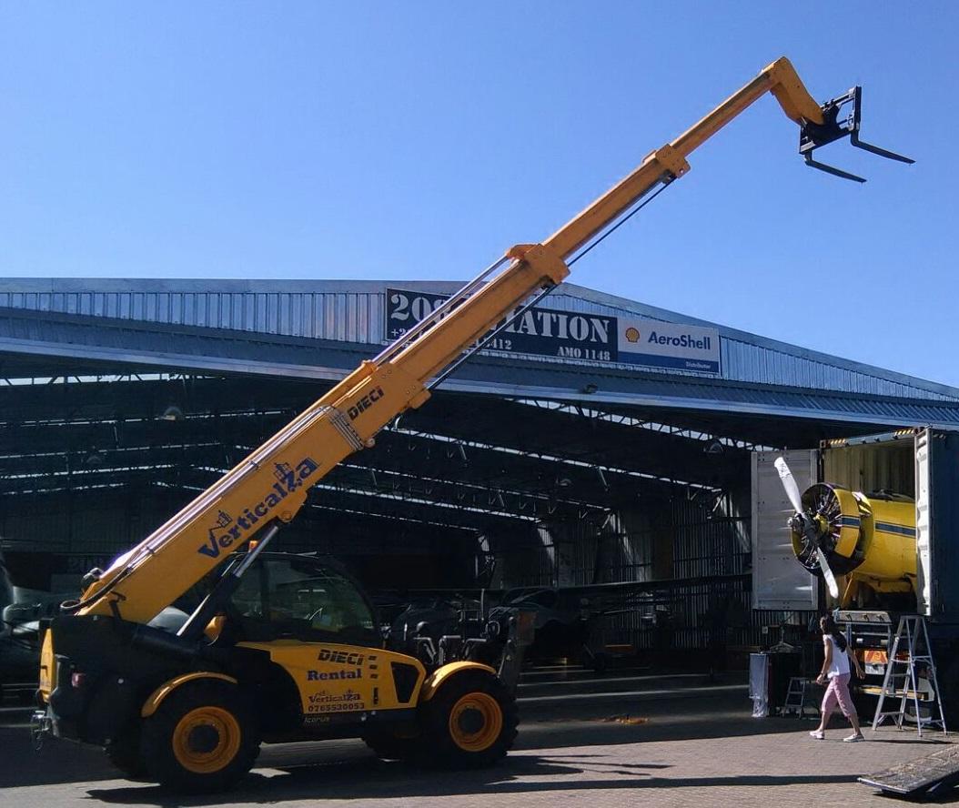VerticalZA Telescopic Handler Dieci Icarus 40.17 - 17m 4ton Telescopic Forklift Manlift